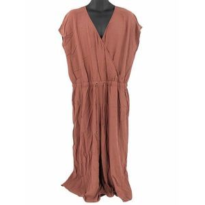 Eileen Fisher Jumpsuit Brown L